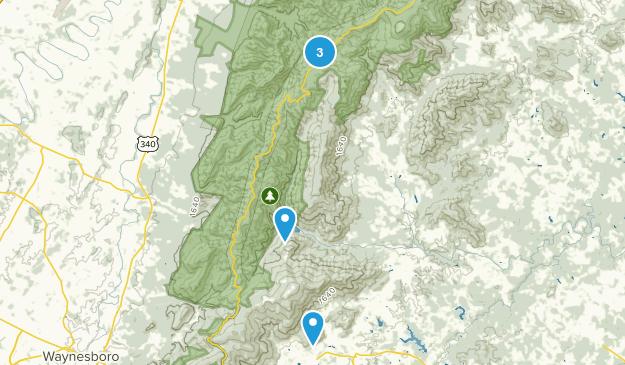 Crozet, Virginia Wildlife Map