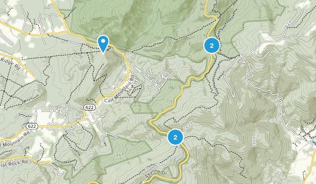 Greenwood, Virginia Birding Map