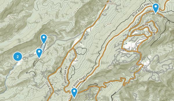 Lyndhurst, Virginia Birding Map