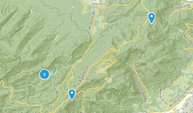 Lyndhurst, Virginia Wildlife Map