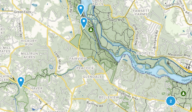 McLean, Virginia Wildlife Map