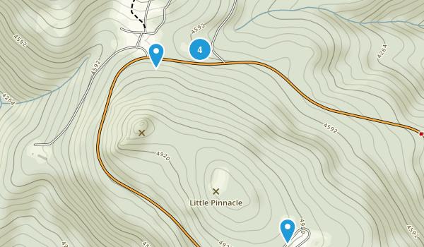Mill Creek, Virginia Walking Map