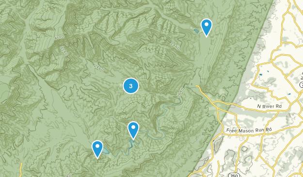 Mt Solon, Virginia Walking Map