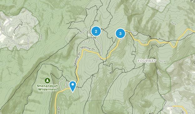 Rileyville, Virginia Nature Trips Map