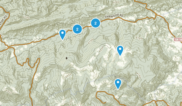 Troutdale, Virginia Nature Trips Map