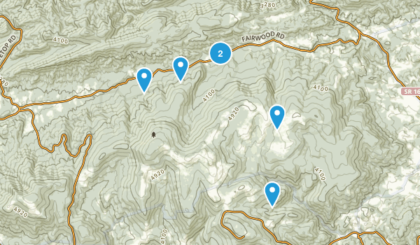 Troutdale, Virginia Walking Map