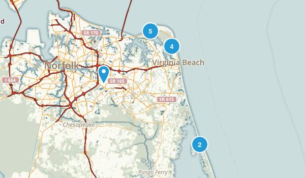 Virginia Beach, Virginia Beach Map