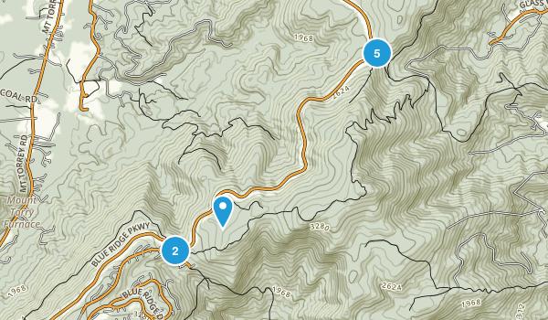Wintergreen, Virginia Nature Trips Map