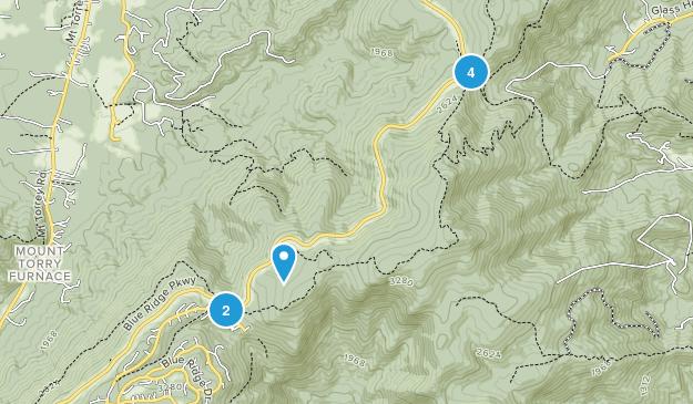 Wintergreen, Virginia Walking Map