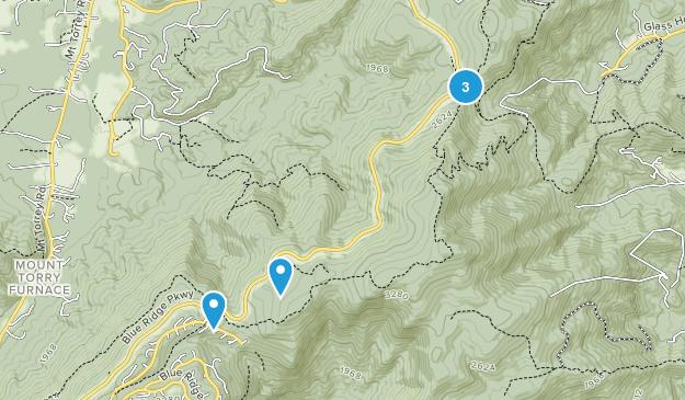 Wintergreen, Virginia Wild Flowers Map