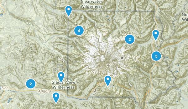 Ashford, Washington Birding Map