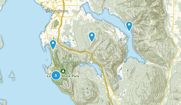 Bellingham, Washington Birding Map