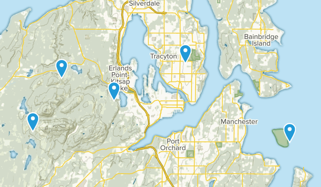 Bremerton, Washington Kid Friendly Map