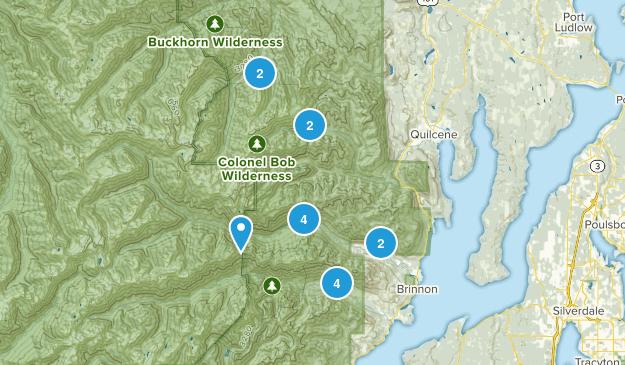 Brinnon, Washington Wildlife Map