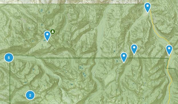 Buckley, Washington Hiking Map