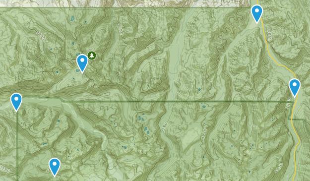Buckley, Washington Mountain Biking Map