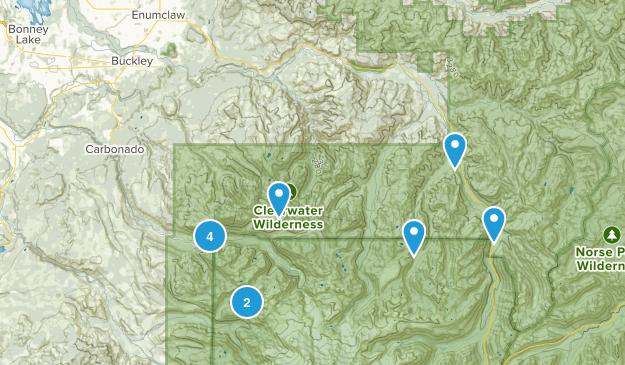 Buckley, Washington Views Map