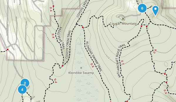 Coal Creek, Washington Birding Map