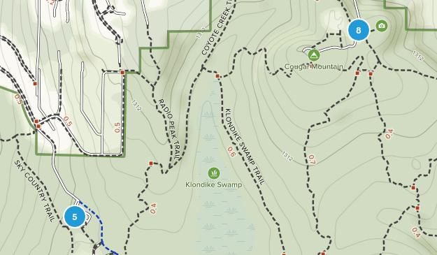 Coal Creek, Washington Walking Map
