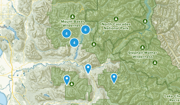 Concrete, Washington Birding Map