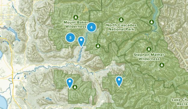 Concrete, Washington Dog Friendly Map