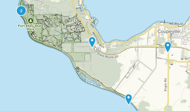 Coupeville, Washington Walking Map