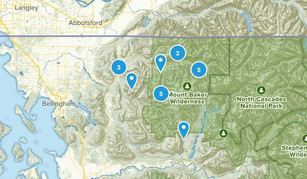 Deming, Washington Forest Map