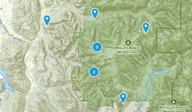 Deming, Washington Wildlife Map