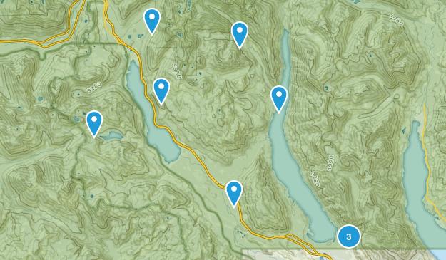 Easton, Washington Hiking Map