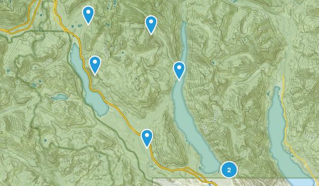 Easton, Washington Walking Map