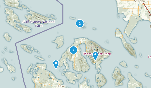 Eastsound, Washington Walking Map