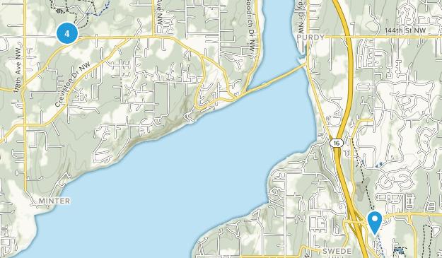 Gig Harbor, Washington Birding Map