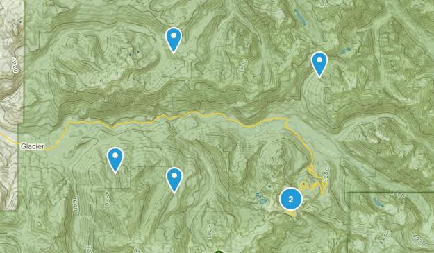 Glacier, Washington Hiking Map