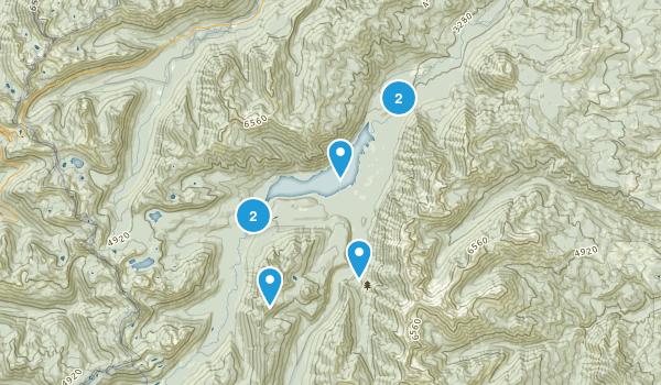 Goose Prairie, Washington Hiking Map