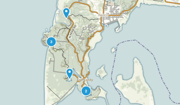 Ilwaco, Washington Birding Map
