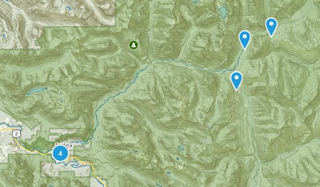 Index, Washington Hiking Map