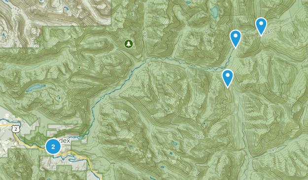 Index, Washington Walking Map