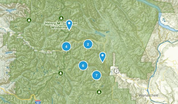 Leavenworth, Washington Camping Map