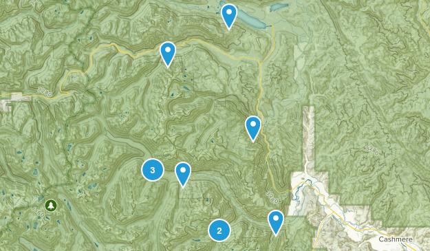 Leavenworth, Washington Fishing Map