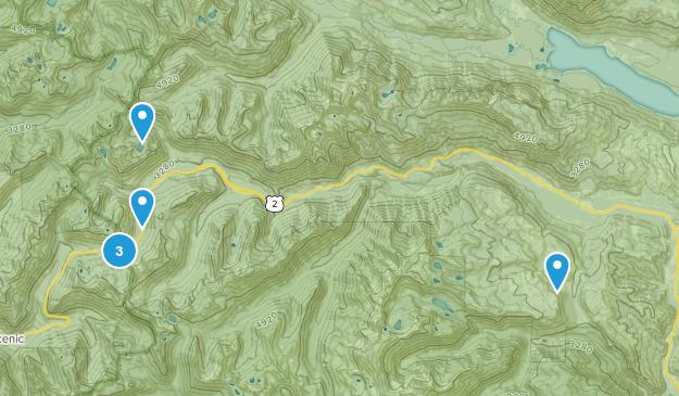 Leavenworth, Washington Skiing Map