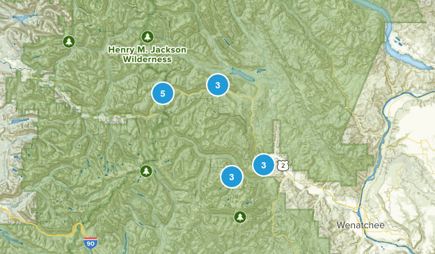 Best Snowshoeing Trails near Leavenworth, Washington   AllTrails