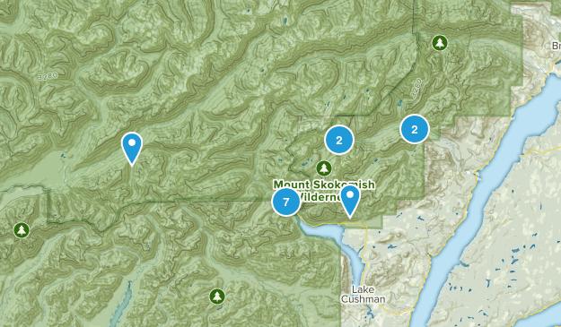 Lilliwaup, Washington No Dogs Map