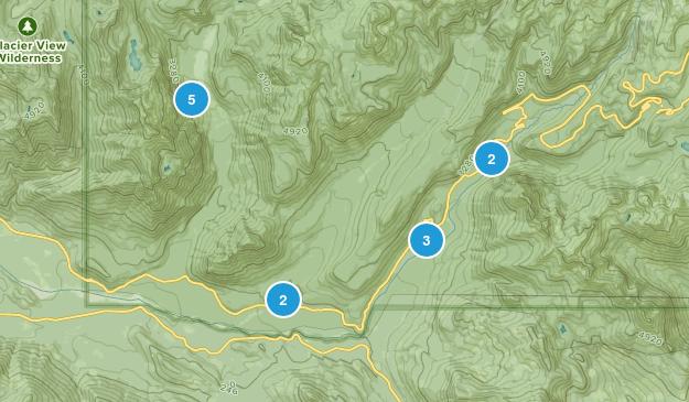 Longmire, Washington Hiking Map