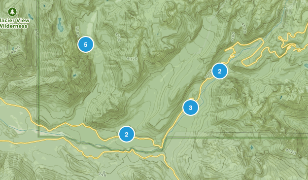 Longmire, Washington Hiking Map