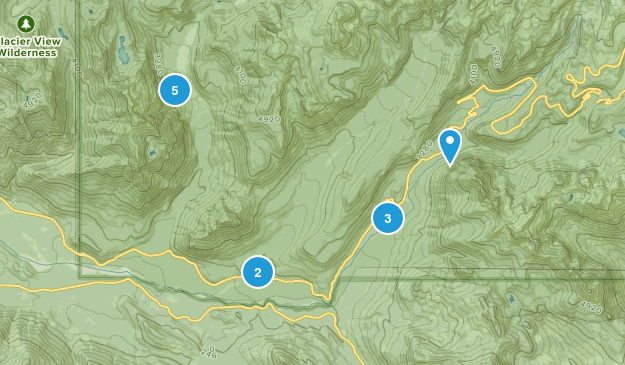 Longmire, Washington Nature Trips Map