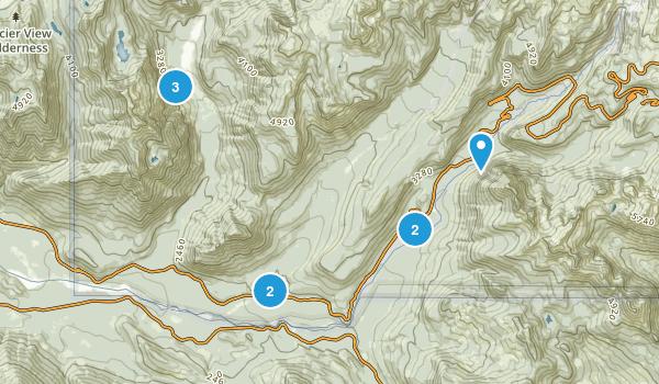 Longmire, Washington Walking Map