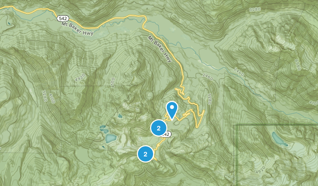 Maple Falls, Washington Kid Friendly Map