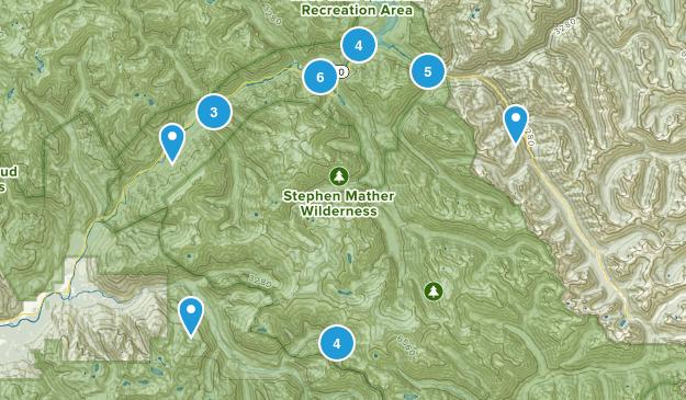 Marblemount, Washington Forest Map