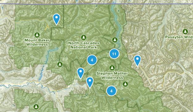 Marblemount, Washington Wildlife Map