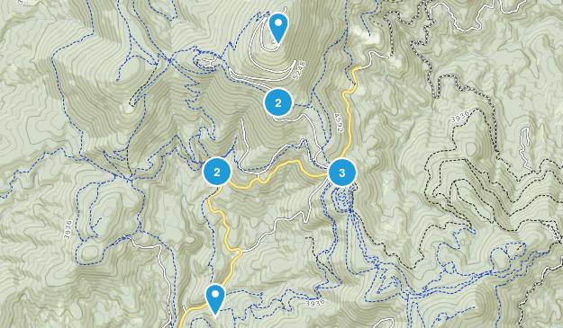 Mead, Washington Horseback Riding Map